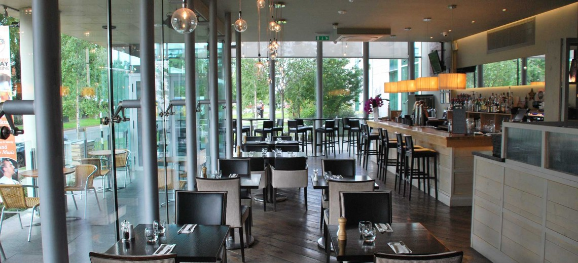 Large glass windows Letting in loads of light into the restaurant and show the proud work we have done.